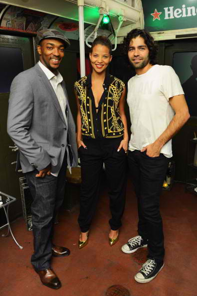 Anthony Mackie, Denise Vasi, Adrian Grenier crack the case 7
