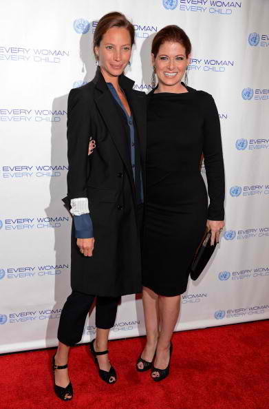 christy turlington and debra messing
