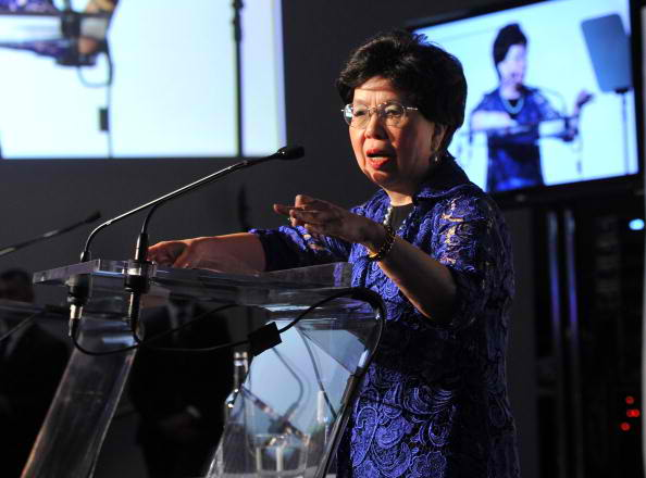 director general of WHO dr. margaret chan
