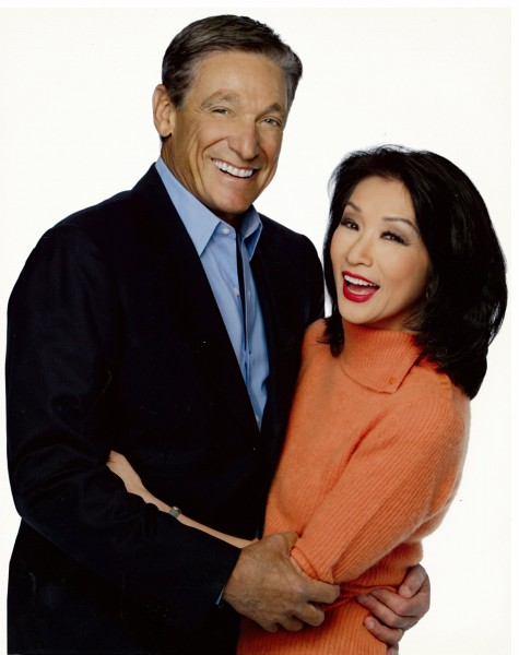 maury povich and wife