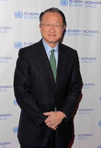 president of world bank Jim Yong Kim