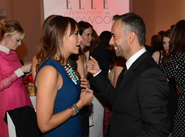 Actress Rashida Jones and designer Francisco Costa