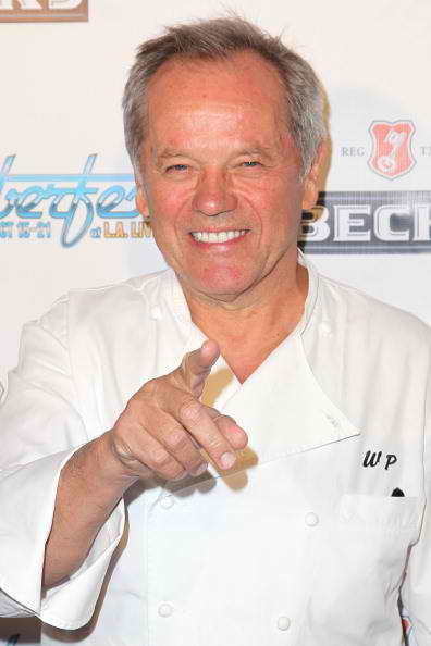 Celebrity chef Wolfgang Puck Rocktober fest red carpet 2