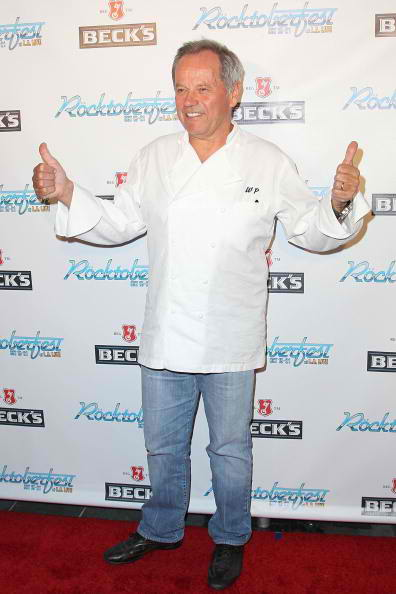 Celebrity chef Wolfgang Puck Rocktober fest red carpet