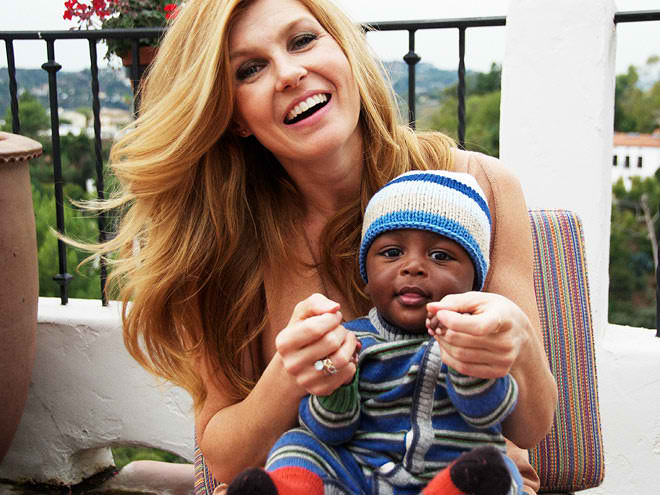 Connie Britton and Yoby