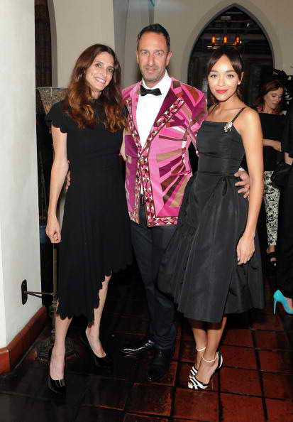Elizabeth Stewart, Christos Garkinos, and Ashley Madekwe