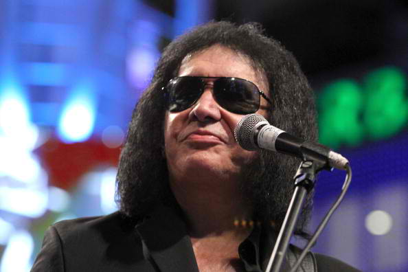Gene Simmons performing 2