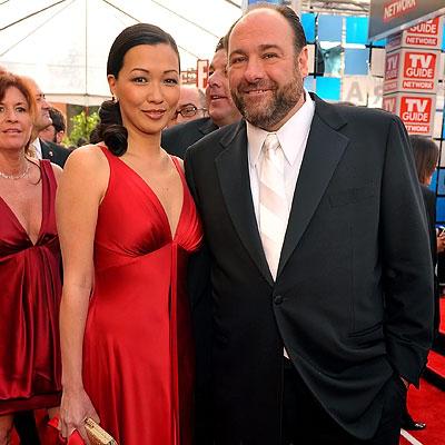 James Gandolfini & Deborah Lin