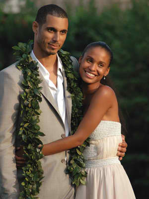 Joy Bryant & David Pope