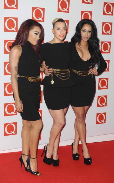 Karis Anderson, Courtney Rumbold and Alexandra Buggs of Stooshe 2