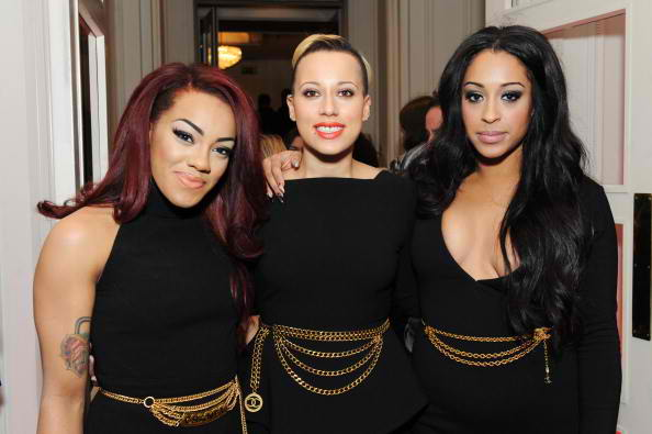 Karis Anderson, Courtney Rumbold and Alexandra Buggs of Stooshe 3