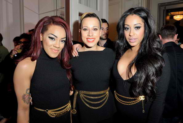 Karis Anderson, Courtney Rumbold and Alexandra Buggs of Stooshe 4