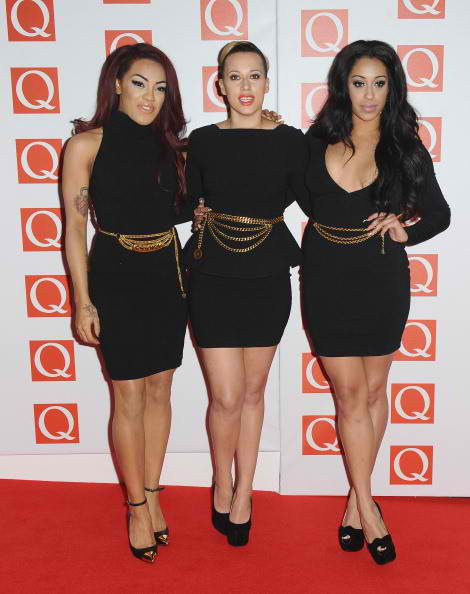 Karis Anderson, Courtney Rumbold and Alexandra Buggs of Stooshe
