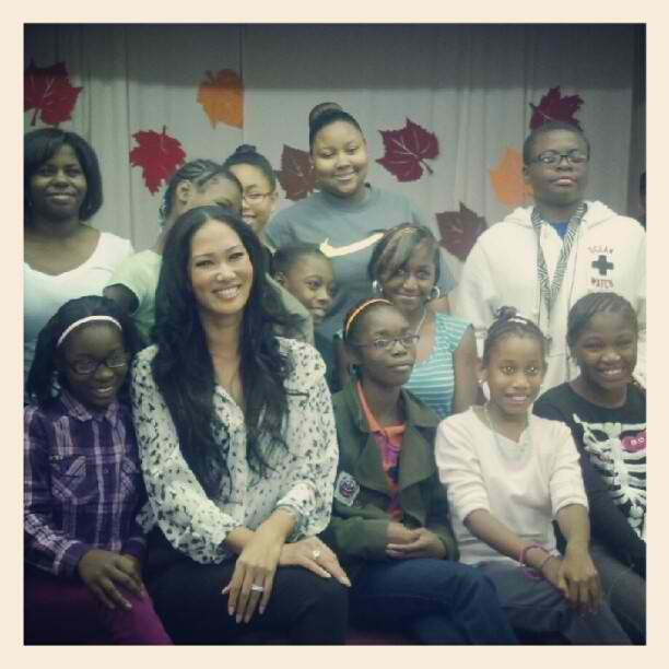 Kimora Lee Simmons and youth for campaign 1