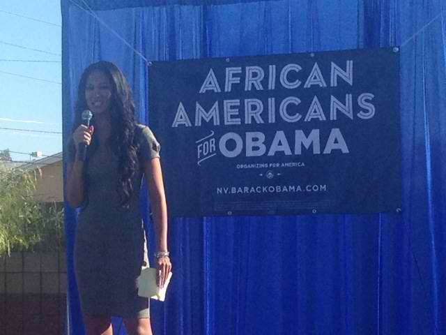 Kimora Lee Simmons campaigns in Nevada 2