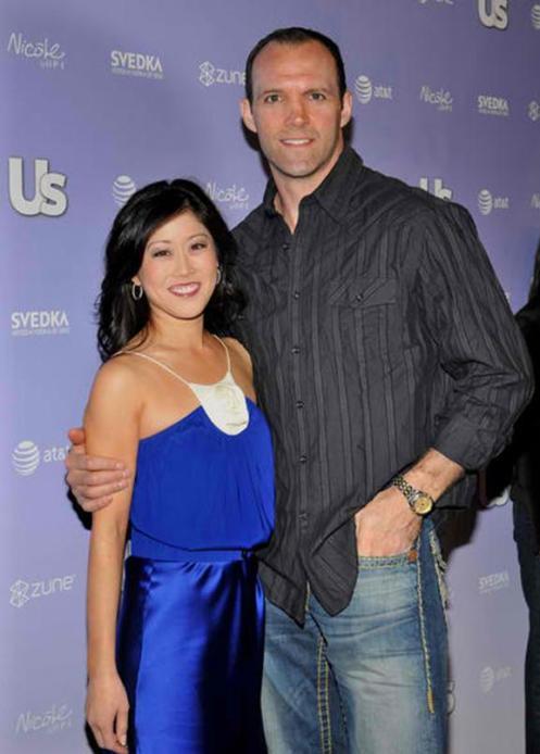 Kristi Yamaguchi and Bret Hedigan