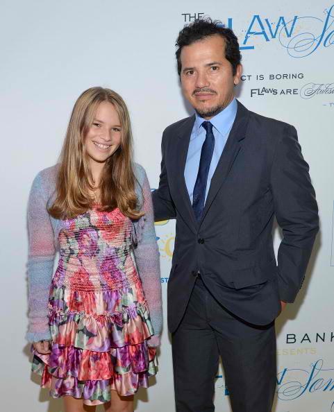 llegra Leguizamo and father actor John Leguizamo