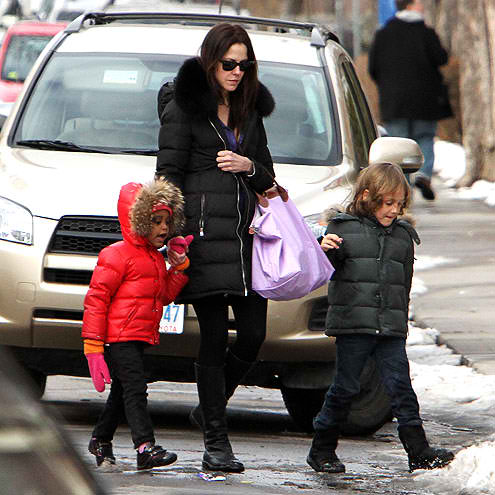 mary louise parker and children