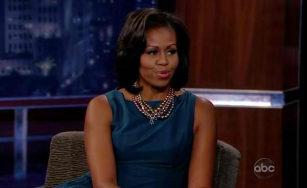 Michelle Obama on Jimmy Kimmel 1