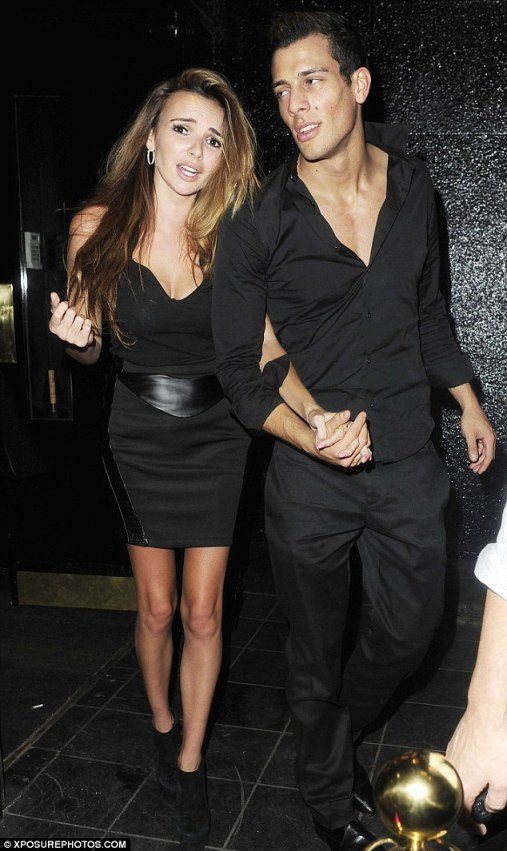 Nadine Coyle and Waz Ashayer