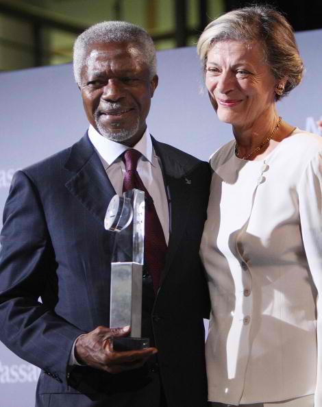 Nane and Kofi Annan 2