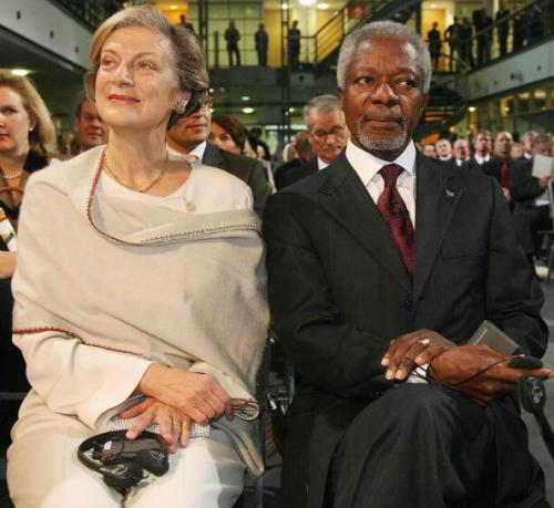Nane and Kofi Annan