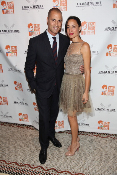 """Nigel Barker and Cristen Barker """"A Place At The Table"""" Annual Dinner Benefiting Homeless LGBT Youth 1"""