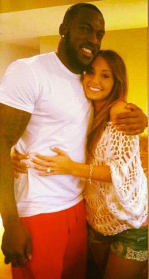 Patrick Willis and Shenae Saifi