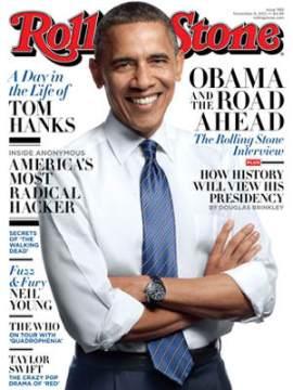 President Obama for Rolling Stone November 2012