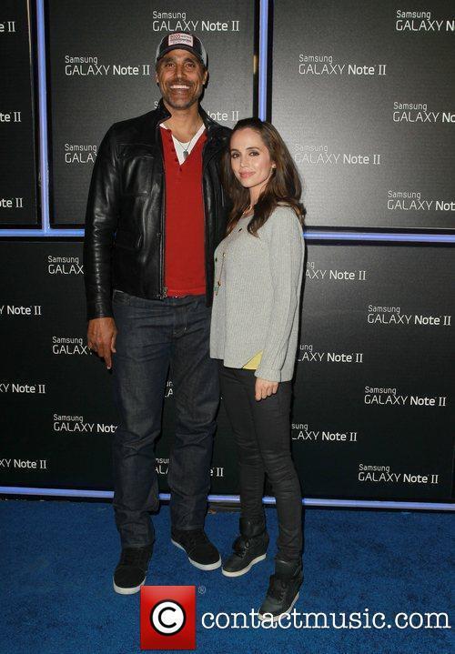 Rick Fox and Eliza Dushku