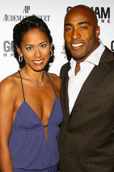 Ronde Barber and Claudia Patron