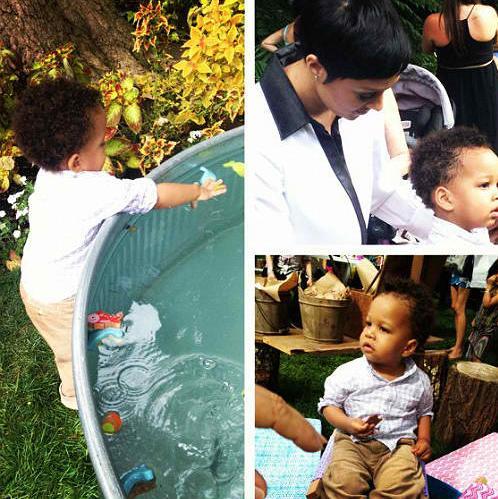 Tia and son 2
