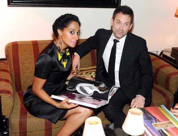 Tracee Ellis Ross (L) and Jeff Snyder