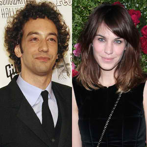 Alexa Chung and Albert Hammond, Jr.