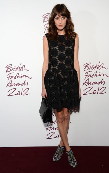 Alexa Chung British Fashion Awards 1