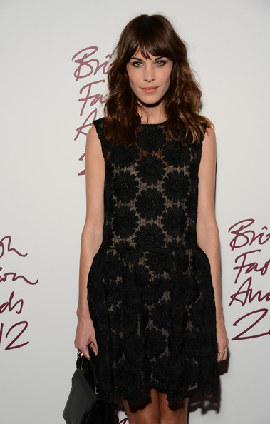 Alexa Chung British Fashion Awards 2