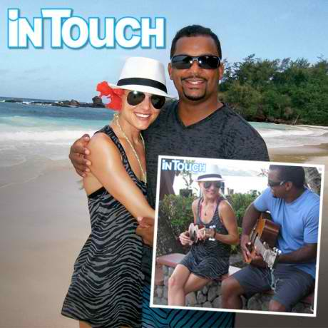 Alfonso Ribeiro honeymoon 1