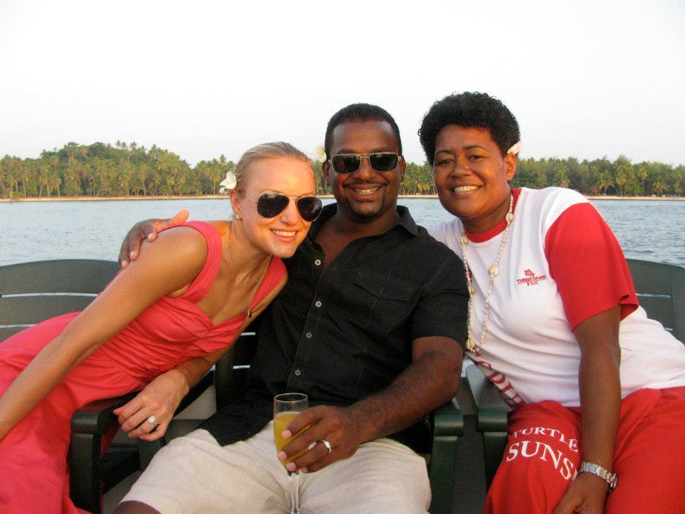 Alfonso Ribeiro honeymoon 2