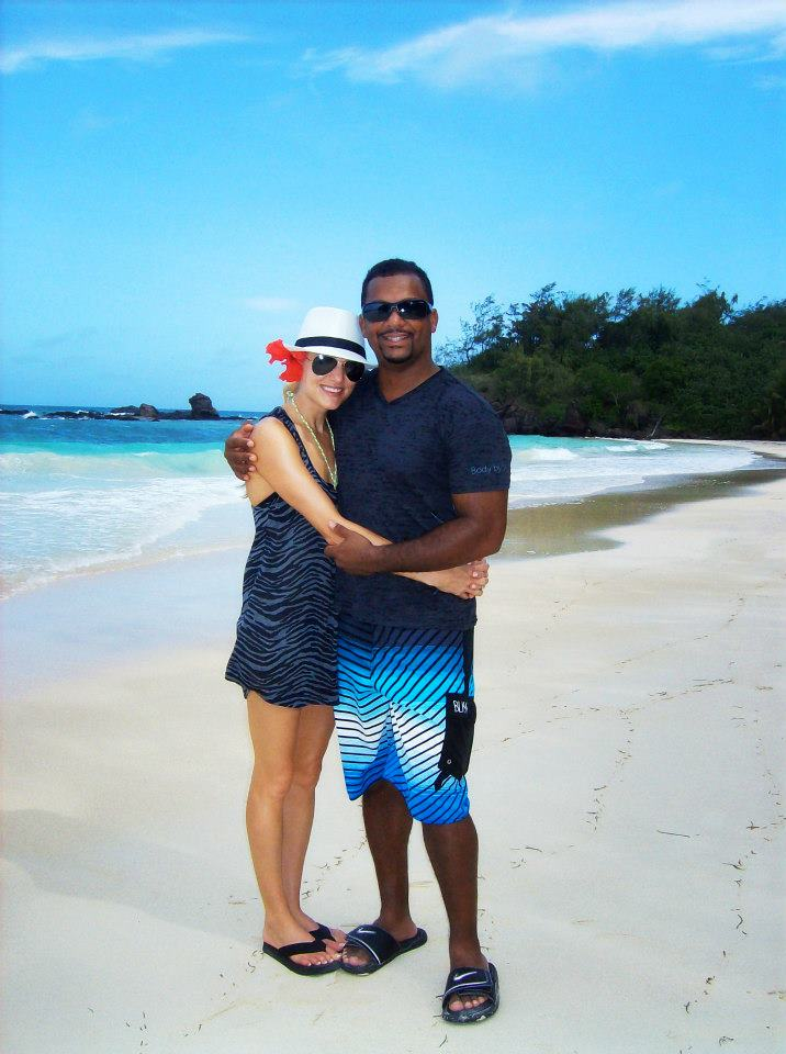 Alfonso Ribeiro honeymoon 4