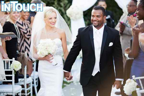 Alfonso Ribeiro wedding 1