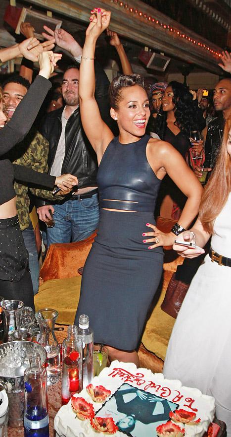 Alicia Keys Album Release Party 2