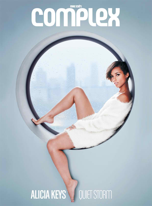 Alicia Keys complex mag dec 2012