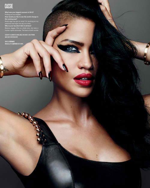 Cassie V magazine 1