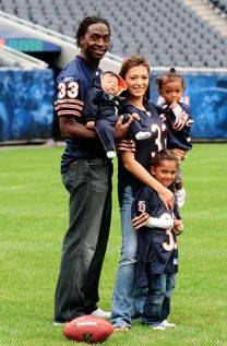 Charles Tillman and family