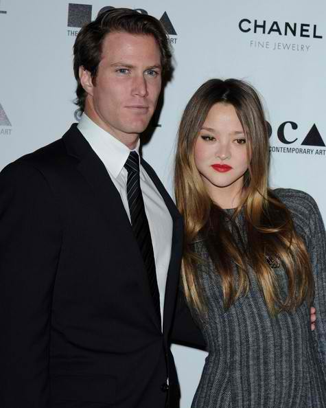 Devon Aoki and James Bailey