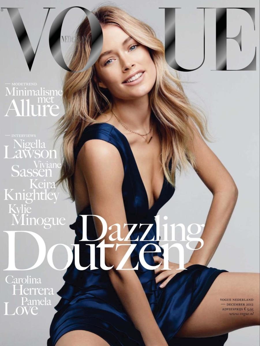 Doutzen Kroes Vogue Netherland Dec 2012 5