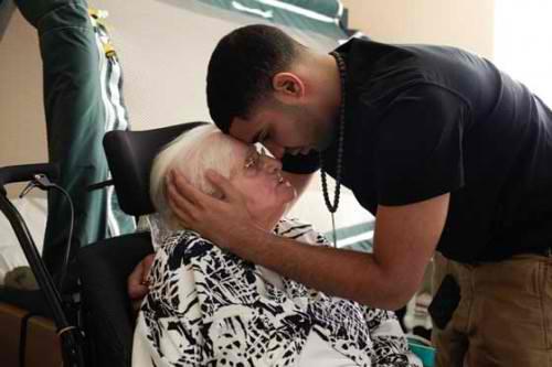 Drake and his grandmother