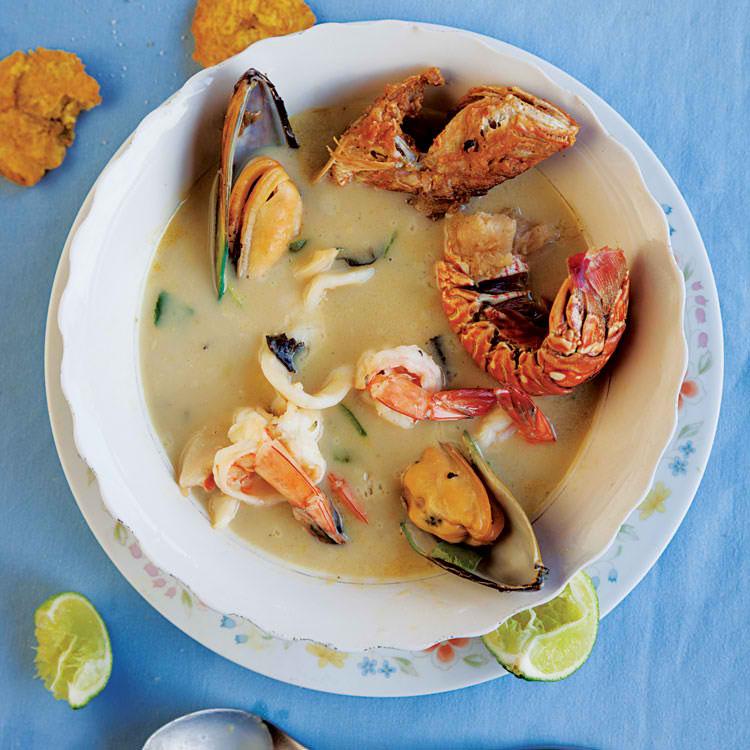 Irau Seafood Soup