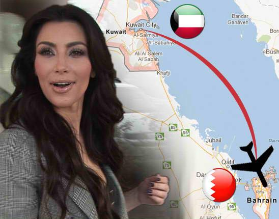 Kim Kardashian goes to the Middle East