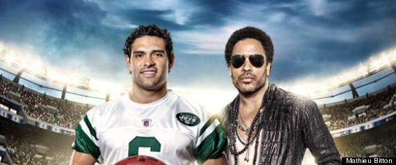 Lenny Kravitz football